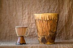 Houten percussiesinstrumenten Stock Afbeelding