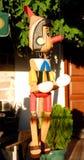 Houten Pinocchio royalty-vrije stock foto's