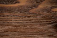 Houten plank, donkere bruine raad, uitstekende achtergrond Royalty-vrije Stock Foto's