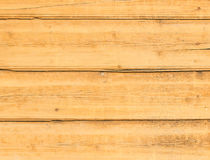 Houten plank gele textuur voor achtergrond Stock Fotografie