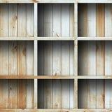 Houten plank, grunge industrieel binnenland Royalty-vrije Stock Afbeeldingen