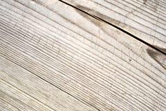Houten plank met splinters en barsten Stock Afbeelding