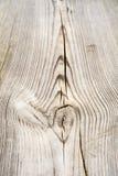 Houten plank met splinters en barsten Stock Fotografie