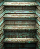 Houten Plank vier royalty-vrije stock fotografie