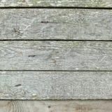 Houten plankraad, Uitstekende houten achtergrond - Oude doorstane houten plank in grijze kleur stock afbeelding