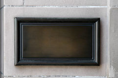 Houten plaque Royalty-vrije Stock Afbeelding