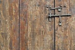 Houten poort Royalty-vrije Stock Afbeelding