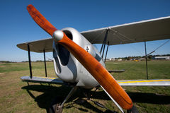 Houten propeller Stock Foto's