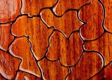 Houten puzels Royalty-vrije Stock Afbeeldingen