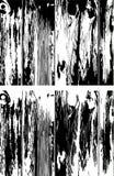 Houten raad met de kenmerkende houten textuur op hen Royalty-vrije Stock Afbeelding