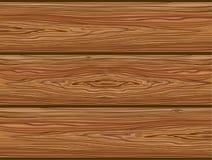 Houten raad Textuur Natuurlijke achtergrond Gedetailleerde vector Royalty-vrije Stock Foto