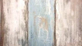 Houten raad, wit en blauw in retro stijl, oude raadsachtergrond royalty-vrije stock foto's