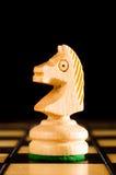 Houten ridder Royalty-vrije Stock Fotografie