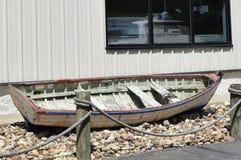 Houten rijboot Stock Afbeelding