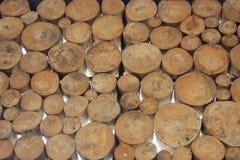 Houten ronde Royalty-vrije Stock Afbeelding