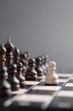 Houten schaak Stock Foto's