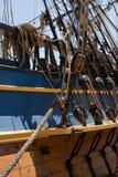 Houten schip Royalty-vrije Stock Afbeelding