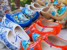 Houten Schoenen van Holland Royalty-vrije Stock Foto's