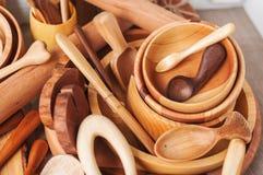 houten schotel Stock Afbeeldingen