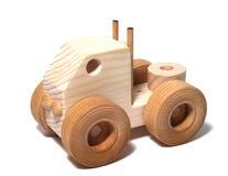 Houten Semi Stuk speelgoed Royalty-vrije Stock Foto's