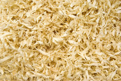 Houten spaanders, organische achtergrond Stock Foto's