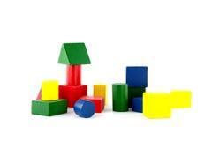 Houten speelgoed Royalty-vrije Stock Afbeelding