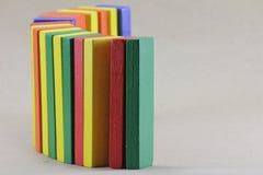 Houten Speelgoed of Toy Blocks stock foto's