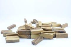 Houten Speelgoed of Toy Blocks royalty-vrije stock foto