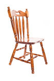 Houten stoel stock afbeeldingen