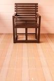 Houten stoel 2 Royalty-vrije Stock Afbeeldingen