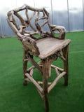 Houten stoel Stock Foto