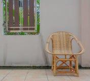 Houten stoel Stock Foto's