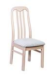 Houten stoel met geïsoleerd Royalty-vrije Stock Fotografie