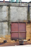 Houten stof in fabriek Royalty-vrije Stock Foto's