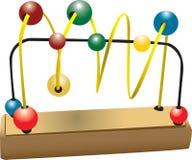 Houten Stuk speelgoed Vector Illustratie