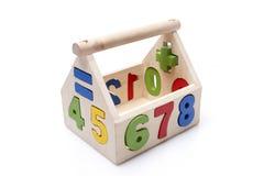 Houten stuk speelgoed Stock Afbeelding