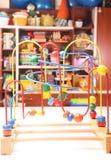 Houten stuk speelgoed Stock Afbeeldingen