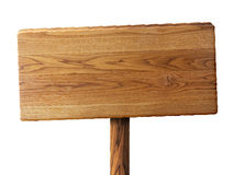Houten teken Royalty-vrije Stock Afbeelding