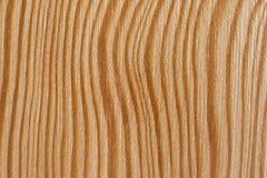 Houten Textuur, Gebogen Lijnen Stock Afbeelding