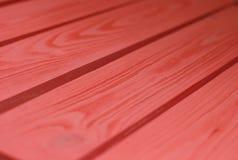Houten Textuur, koraalrode de Korrelachtergrond van de kleuren Houten Plank, Bureau in Perspectief Dicht Omhooggaand, Gestreept H stock fotografie
