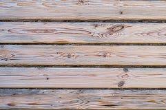 Houten textuur met natuurlijk pijnboompatroon Royalty-vrije Stock Fotografie