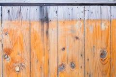 Houten Textuur oude panelen als achtergrond Stock Foto
