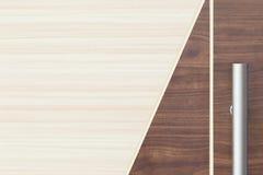 Houten Textuur van de de tegel omhoog oude teak van de vloer de lichte eiken lijn schil van het de rijoog Stock Afbeeldingen