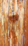 Houten textuur van oud sjofel roestig logboek royalty-vrije stock foto