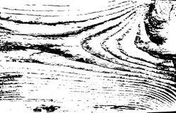 Houten textuur verontruste oppervlakte Oude houten spoorachtergrond Vector illustratie stock illustratie