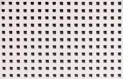 Houten textuur witte geperforeerde oppervlakte royalty-vrije stock foto's