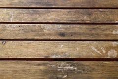Houten textuurachtergrond, bruine houten planken Grunge gewassen houten muurpatroon stock foto