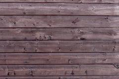 Houten Textuurachtergrond in Horizontaal Patroon, Natuurlijke Kleur Oud Hout Stock Fotografie