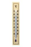 Houten thermometer Royalty-vrije Stock Fotografie