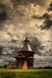 Houten toren Royalty-vrije Stock Afbeeldingen